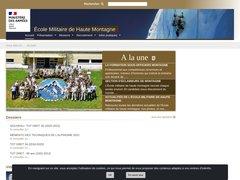 Détails : L'Ecole Militaire de Haute Montagne (EMHM) de Cham