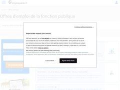 Détails : Offre d'emploi public et territorial Haute Savoie