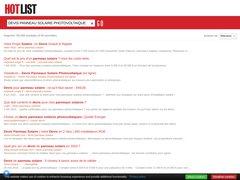 Détails : FranceWatts : solutions photovoltaïques pour particuliers et professionnels