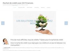 GH Finances : Rachat de crédits, désendettement