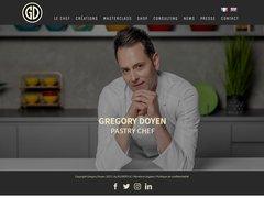 Détails : Gregory Doyen Chef Patissier