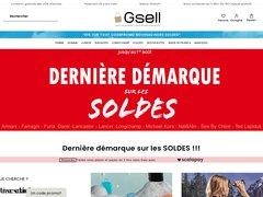 Aperçu du site Gsell