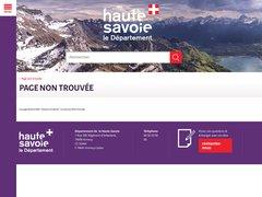 Détails : Offre d'emploi du département de la Haute-Savoie