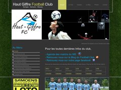Haut Giffre Football Club Taninges Samoens Mieussy