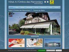 Hôtel A l'Ombre des Marronniers Thonon les Bains