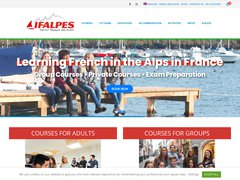 Détails : IFALPES - Apprendre le français en France - Learn French in France