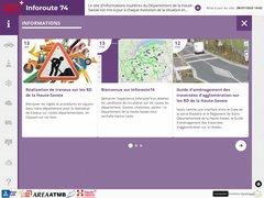 Détails : Info Route 74 - Etat du trafic en Haute-Savoie