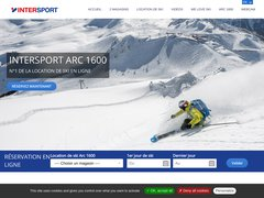 Détails : Location Ski Arc 1600 Intersport