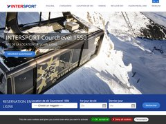 Détails : Location Ski Courchevel 1550 Intersport