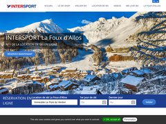 Détails : Location Ski La Foux d'Allos Intersport