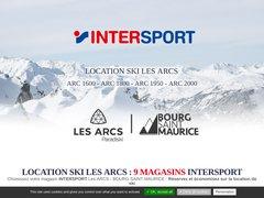 Détails : Location Ski Les Arcs - 6 Magasins Intersport