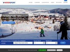 Détails : Location ski Metabief Intersport