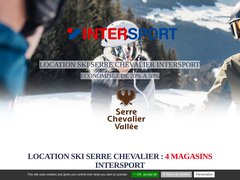 Détails : Location Ski Serre Chevallier Vallée Intersport
