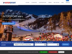 Détails : Location Ski Vars Intersport