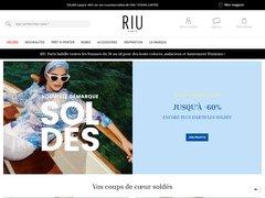 Aperçu du site Jacqueline Riu