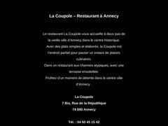 Détails : La Coupole -Annecy