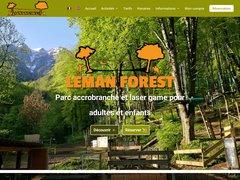 Détails : Parc aventure léman forest à st Gingolph
