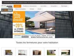 Détails : Léman Stores et Fermetures à Thonon