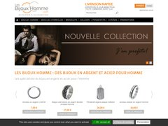 Détails : Les Bijoux Homme - Bijou argent et acier