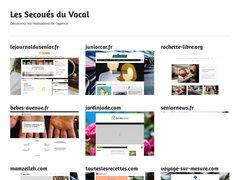 Détails : Les Secoués du Vocal