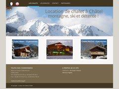 Détails : Location de chalet à Châtel en Haute-Savoie