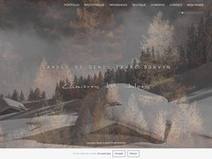 Détails : Lumières des alpes - photographie de montagne