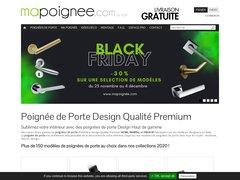 Détails : Poignée de porte design de haute qualité