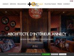 Architecture déco intérieure Annecy - Plus Haut Design