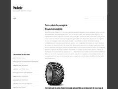 Détails : Pneu Forestier - Garlix Pneus