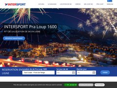Détails : Location Ski Pra Loup 1600 Intersport