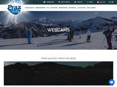 Détails : Webcam Praz sur Arly