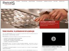 Détails : Relais Industries fabrication pièces plastique