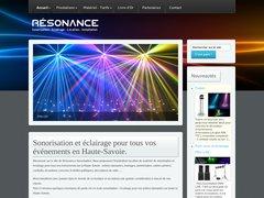 Détails : Résonance-sonorisation, sonorisation et éclairage pour tous vos événements.