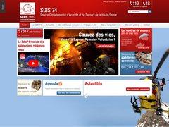 Détails : SDIS 74 - Sapeurs pompiers de Haute-Savoie