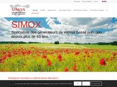 Détails : Simox - Fabricant de générateurs de vapeur basse p