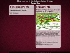 Détails : Tango Duo : Association de Tango Argentin