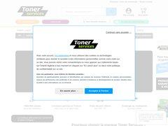 Aperçu du site Toner