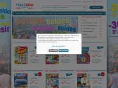 Aperçu du site Toutabo
