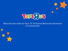 Aperçu du site Toys R Us