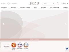 Détails : Sophie la girafe boutique Officielle