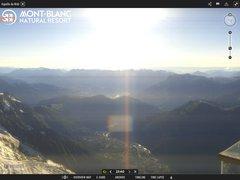 Webcam Chamonix Aiguille du midi