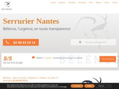 Belenos : serrurier Nantes