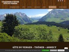 Détails : Chambres d'hôtes Les Villards sur Thônes - Gîte du Verger