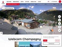 Détails : Webcam de Champagny en Vanoise Village