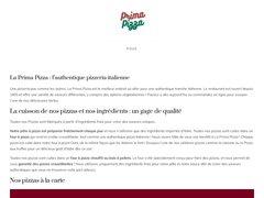 Détails : Prima Pizza à emporter - Meythet