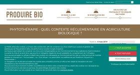 Quel contexte réglementaire en agriculture biologique
