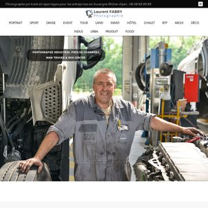 Laurent Fabry photographe en Savoie