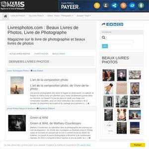 Livresphotos.com magazine sur les Beaux livres de photos