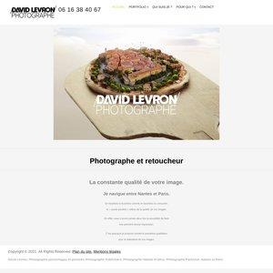 David Levron, photographe publicitaire, packshot, Nantes et Paris