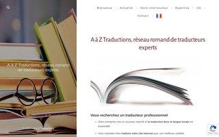 image du site http://aaztraductions.ch/